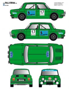 Simca 1000 Zanini Costa brava 1971