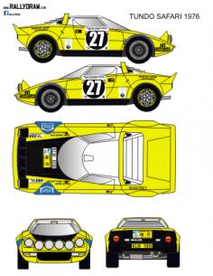 Lancia Stratos Tundo Safari 1976