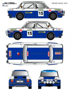 Simca 1000 Oñoro Race 1975