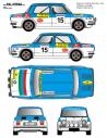 Simca 1000 Zorrilla Costa del Sol 1976
