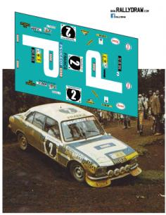 Peugeot 504 Nicolas Safari 1976