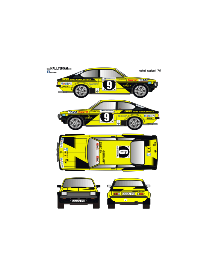 Opel Kadett GTE Rohrl Safari 1976
