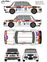 Simca 1000 Freddy Sachs 1980