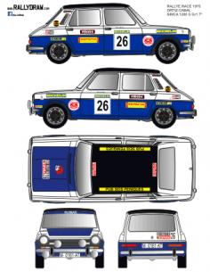 Simca 1200 Ortiz Race 1975