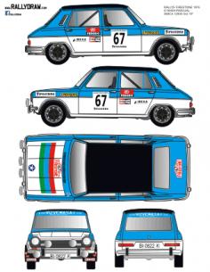 Simca 1200 O´Shea Firestone 1976