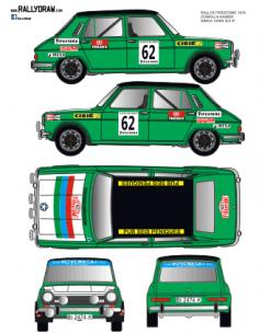 Simca 1200 Zorrilla Firestone 1976