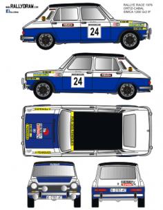 Simca 1200 Ortiz Race 1976