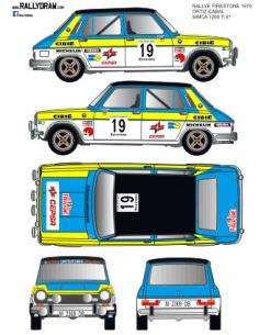 Simca 1200 Ortiz Firestone 1979