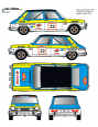 Simca 1200 Augustin Race 1979