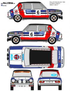Simca 1200 Pio Rias Bajas 1980