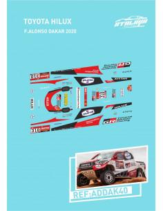 Toyota Hilux Alonso Dakar 2020