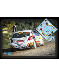 Peugeot 208 R2 Yeray Lemes & Rogelio Peñate Rallye Cataluña 2016