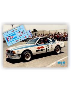 BMW 635 CSI CARLOS & C.MOLINA - RALLY EL CORTE INGLES 1987