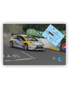 CITROEN C4 WRC DISA D.AURIOL & D.GIRAUDET - RALLY DE CANARIAS 2015