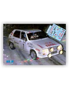 CITROEN VISA 1000 PISTAS -J.C.ANDRUET & A.PEUVERGNE- RALLY DE MONTECARLO 1985