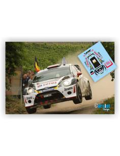 FORD FIESTA WRC LOTOS M. KOSCIUZSKO & M.SZCZEPANIAK RALLY DEUTSCHLAND 2013