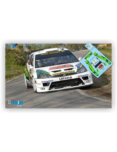 FORD FOCUS WRC J.M.LATVALA & M.ANTILA RALLY DE CATALUÑA 2006