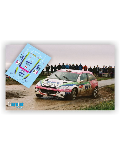 FORD FOCUS WRC OMV M.STOHL & I.PETRASKO RALLY BURGENLAND 2002