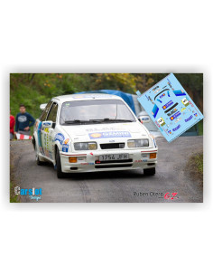 FORD SIERRA RS COSWORTH S.VALLEJO & A.BOTO RALLY RIAS ALTAS HISTORICO 2015