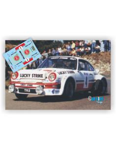 PORSCHE 911 SC GR.4 LUCKY STRIKE M.PEREZ & J.J.ALONSO - RALLY GRAN CANARIA 1986