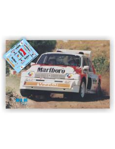 MG METRO 6R4 A.ALONSO & J.LINARES RALLY FORMULA 1994