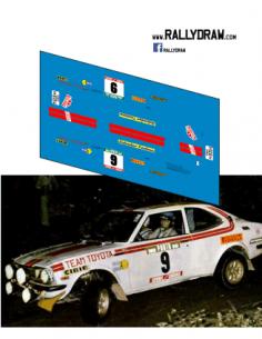 Toyota Corolla Andersson Portugal 1975