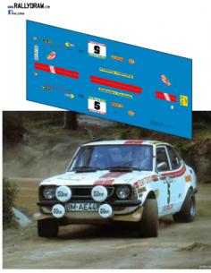 Toyota Corolla Mikkola Portugal 1976