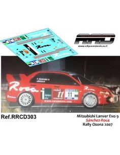 Mitsubishi Lancer Evo 9 Sanchez-Roca Rally Osona 2007