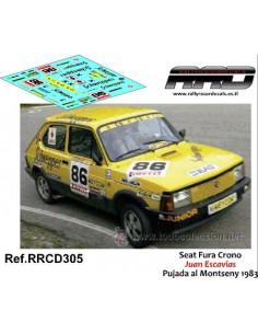 Seat Fura Crono Juan Escavias Pujada al Montseny 1983
