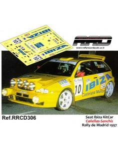 Seat Ibiza KitCar Cañellas-Sanchis Rally de Madrid 1997