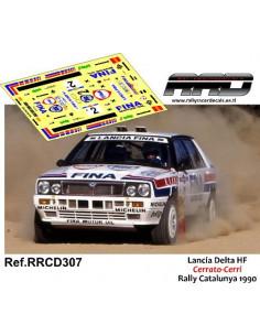 Lancia Delta HF Cerrato-Cerri Rally Catalunya 1990