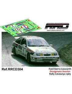 Ford Sierra Cosworth Droogmans-Joosten Rally Catalunya 1989