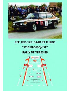 Saab 99 Turbo - Stig Blomqvist - Rally Ypres 1980