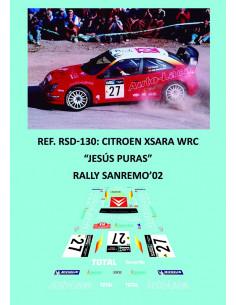 Citroen Xsara WRC - Jesús Puras - Rally Sanremo 2002