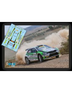 Skoda Fabia R5 Jose Luis Peláez & Rodolfo del Barrio Rallye Navarra 2018