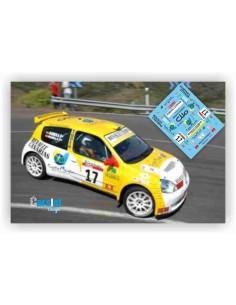 RENAULT CLIO S1600 C.PADILLA & B.GUERRA RALLY DE CANARIAS 2003