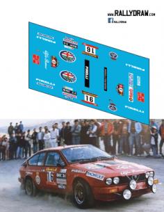 Alfa Romeo GTV Bassas Race 1986