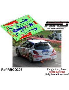 Peugeot 207 S2000 Ojeda-Barrabes Rally Costa Brava 2008