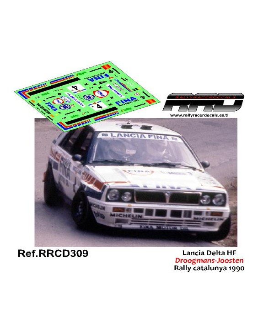 Lancia Delta HF Droogmans-Joosten Rally Catalunya 1990