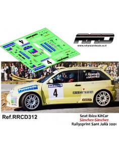Seat Ibiza KitCar Sanchez-Sanchez Rallysprint Sant Julia 2001