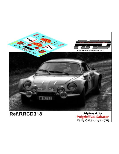 Alpine Seat Proto De Cos-Salas Rally de España 1970