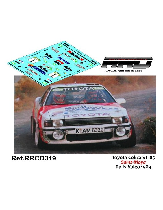 Toyota Celica ST185 Sainz-Moya Rally Valeo 1989