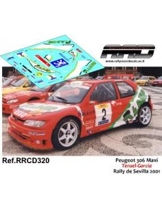 Peugeot 306 Maxi Teruel-Garcia Rally de Sevilla 2001