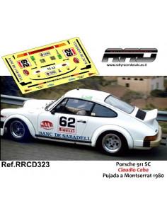 Porsche 911 SC Claudio Caba Pujada a Montserrat 1980