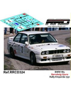 BMW M3 Barrabeig-Saura Rally Emporda 1991