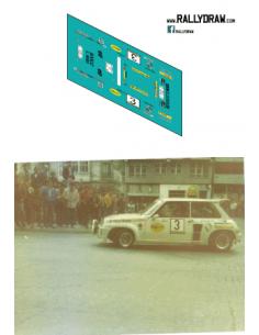 Renault 5 Turbo Mora Coruña 1984