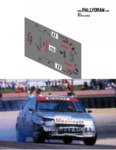 Renault Clio Jose Mora CET 1992