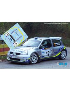 RENAULT CLIO S1600 A.MARTIN & B.ROZADA RALLY PRINCIPE DE ASTURIAS 2005