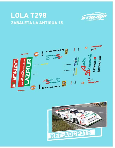 Lola T298 Zabaleta La Antigua 15