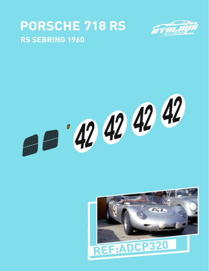 Porsche 718 RS Sebring 1960